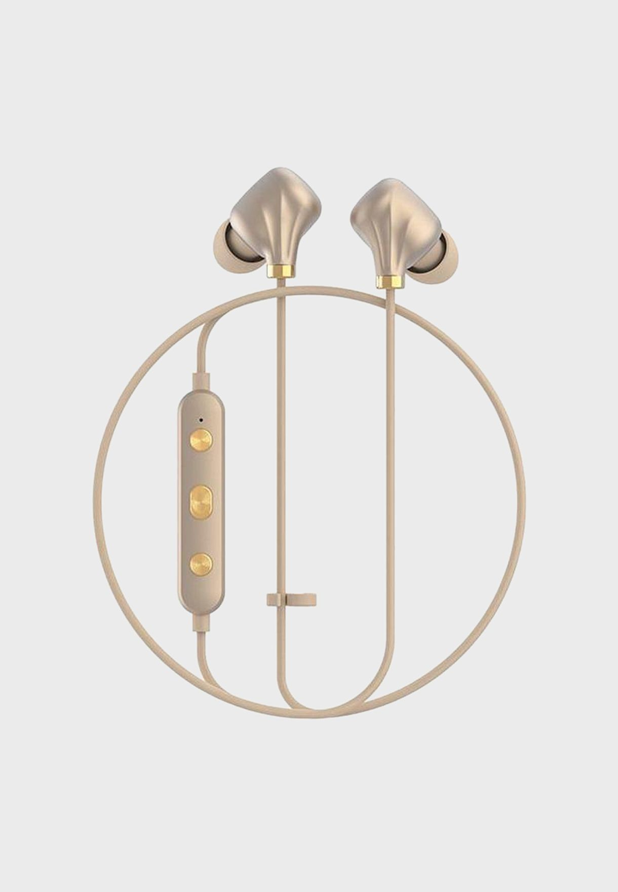 Wireless Earphones Champagne