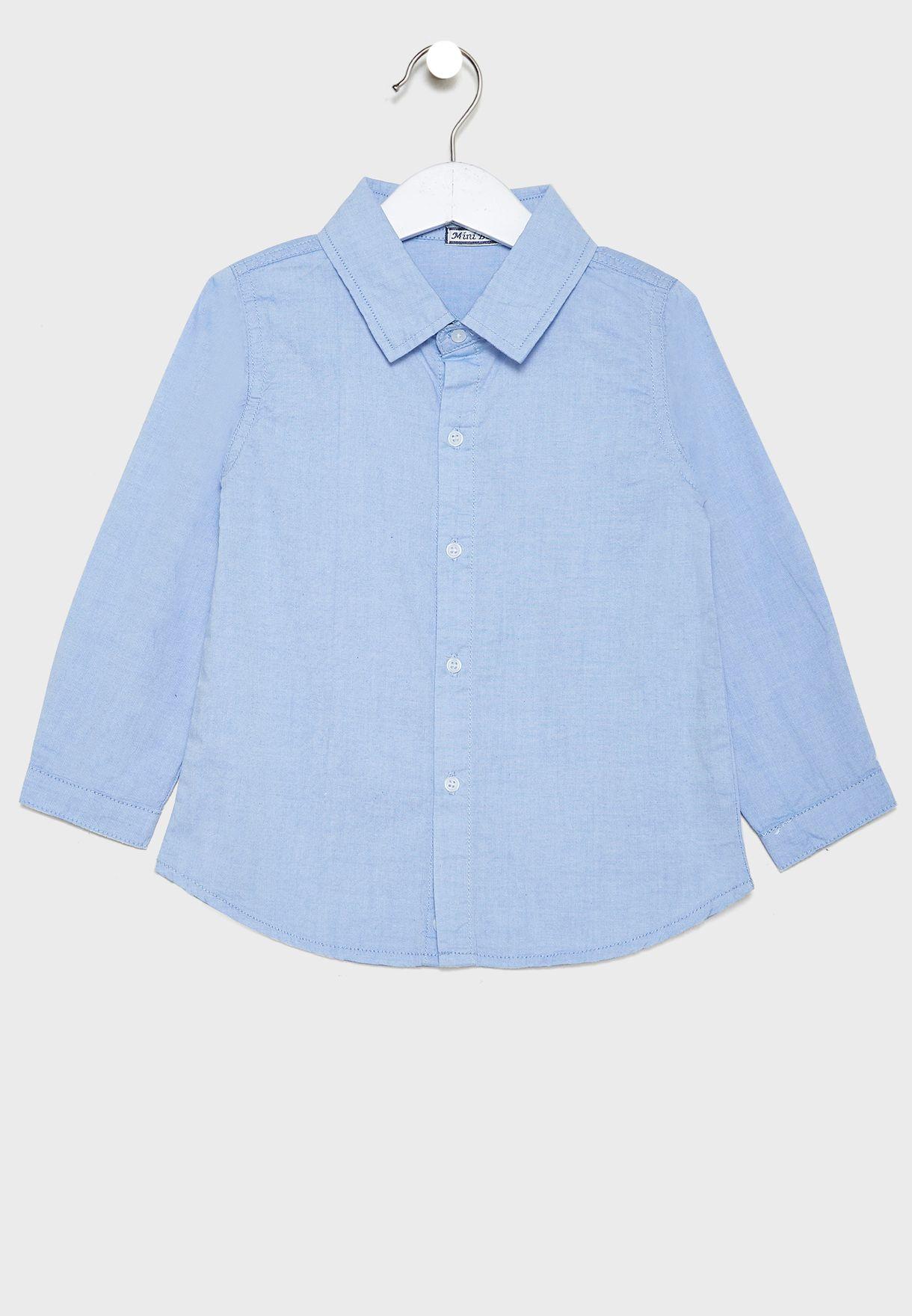 قميص بازرار للاطفال