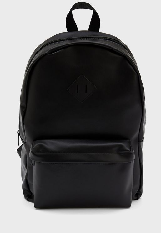 Front Zip Detail Backpack