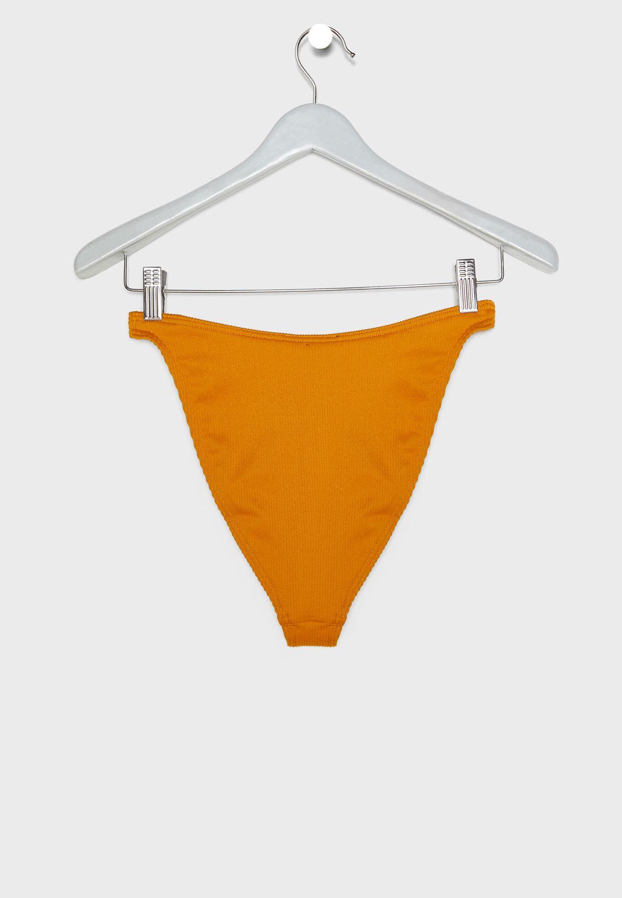 Rib Boomerang Bikini Bottom