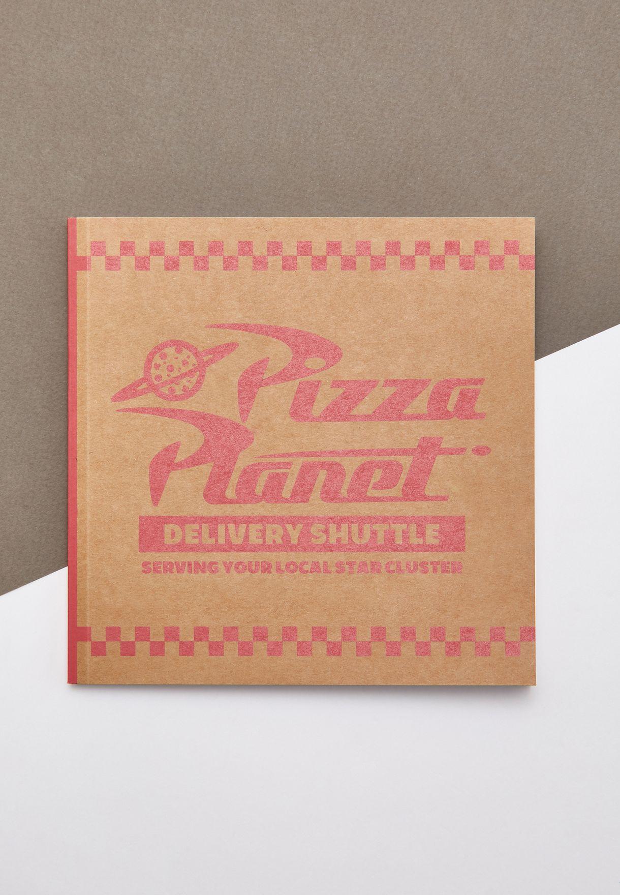 دفتر ملاحظات بطباعة بيتزا بلانت توي ستوري