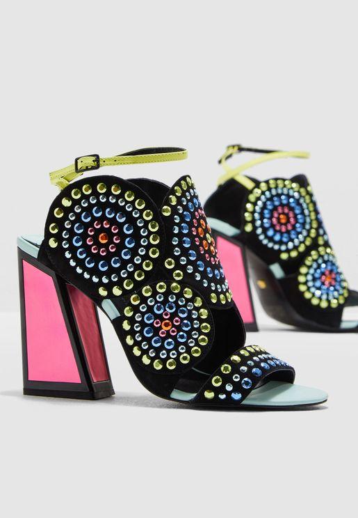 finest selection 0117a 583b5 Frida Heel Sandal
