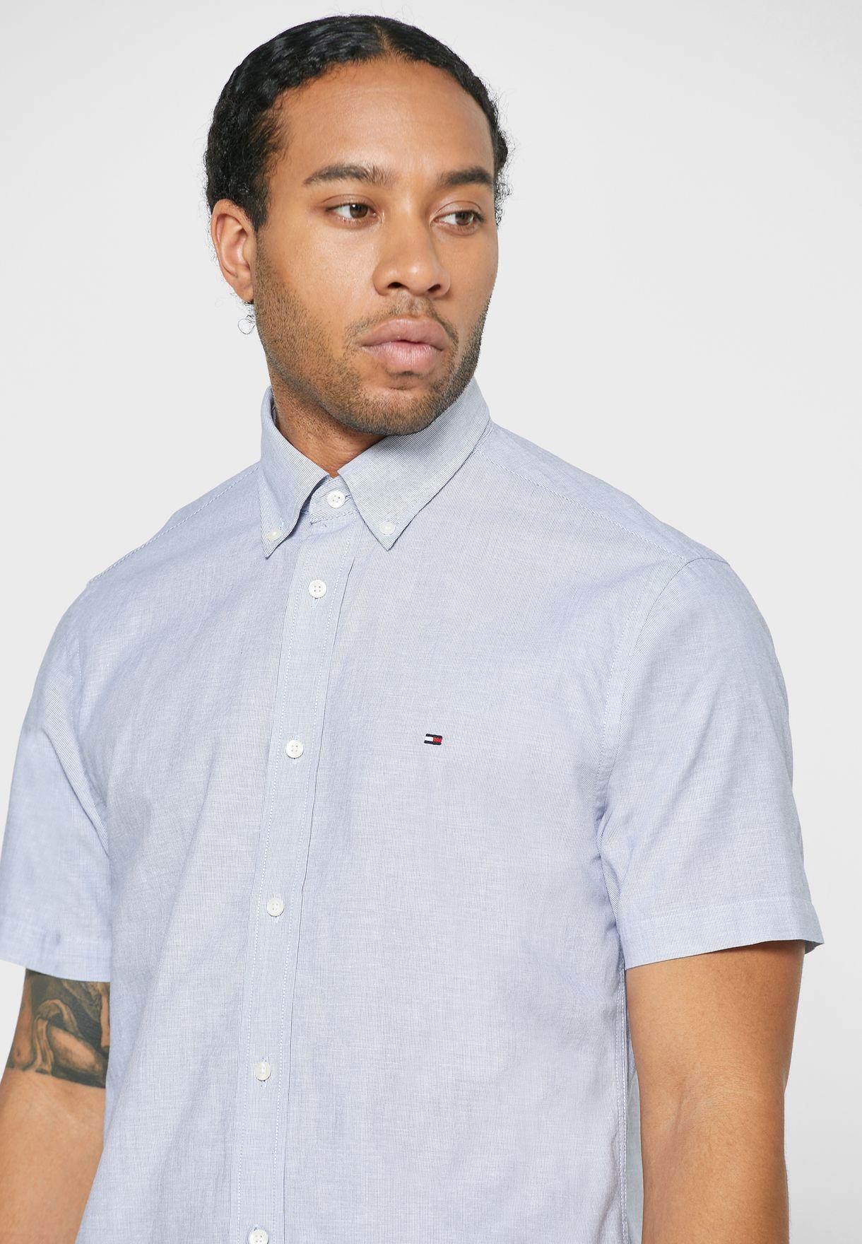 Pinstripe Regular Fit Shirt