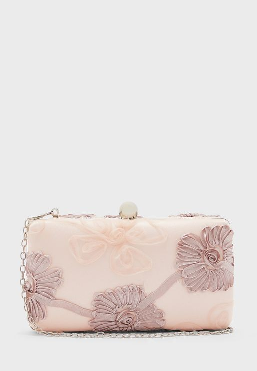 Shirley Floral Clutch