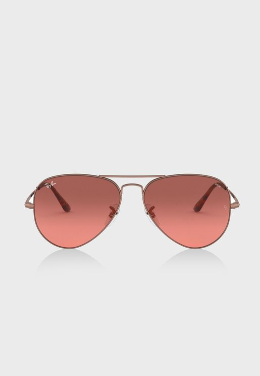0RB3689 Aviator Sunglasses