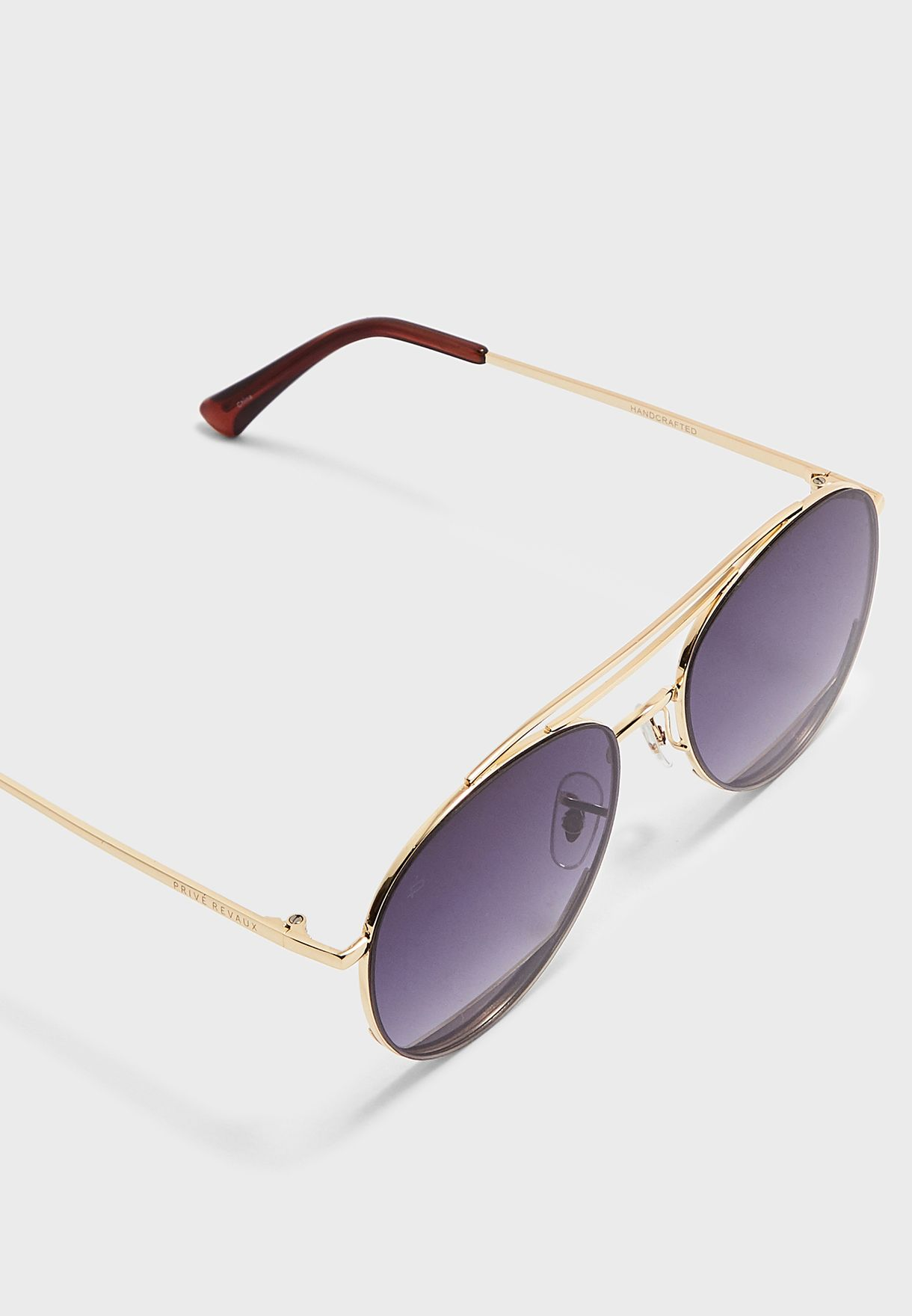 53a2b7dfa3e5b Shop Prive Revaux gold The Daveo Aviator KD2180-C35-637-GLD for ...