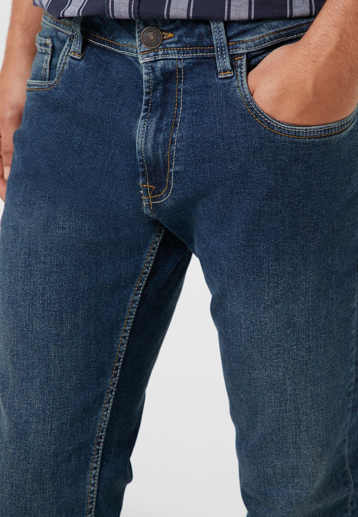 جينز سكيني فت