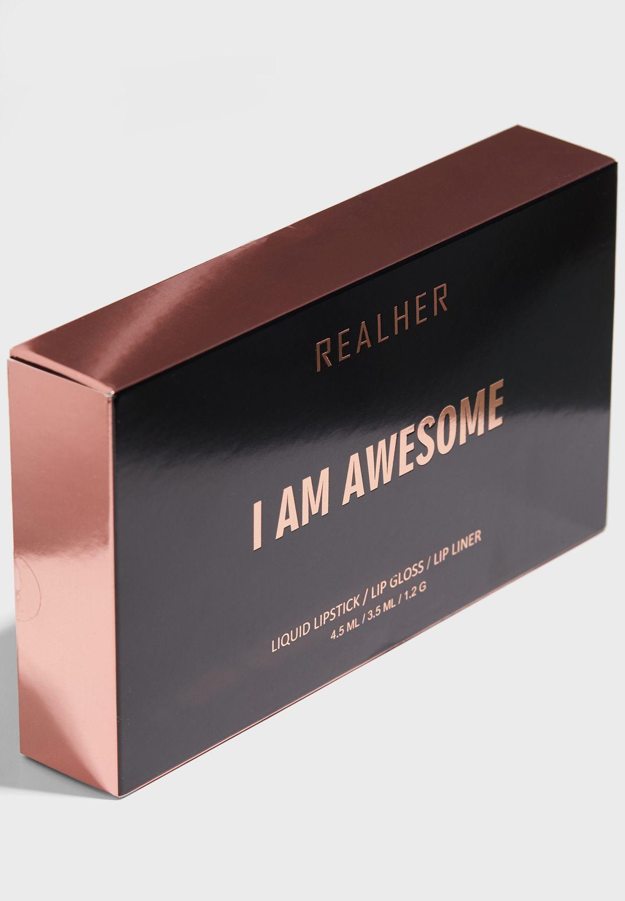 Deep Nude Lip Kit - I Am Awesome