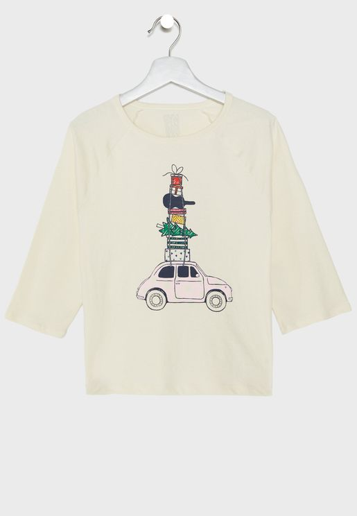 Kids Van Graphic T-Shirt