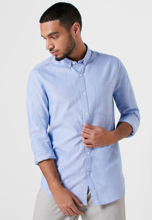 قميص اكسفورد