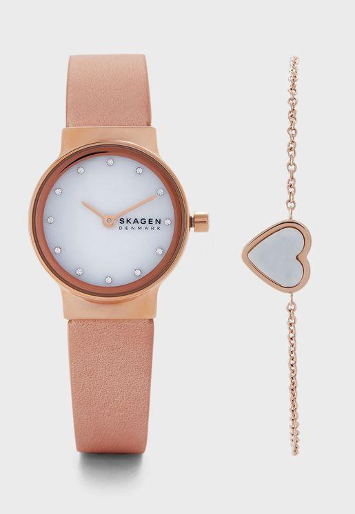 SKW1113 Freja Analog Watch with Bracelet