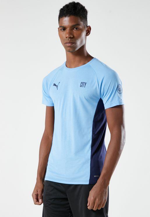 MCFC Evostripe T-Shirt