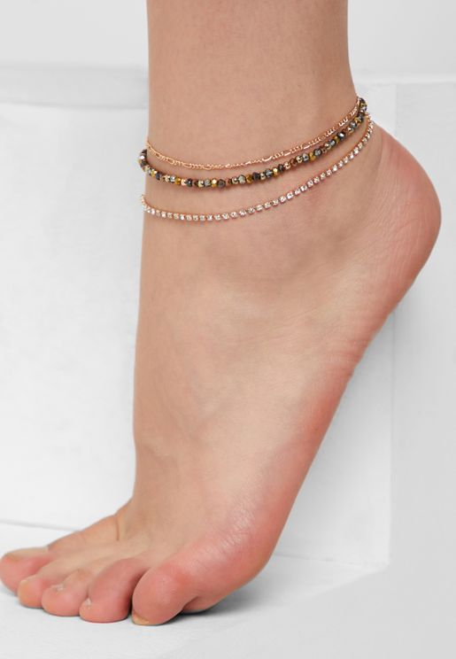 Multipack Nelawia Anklets