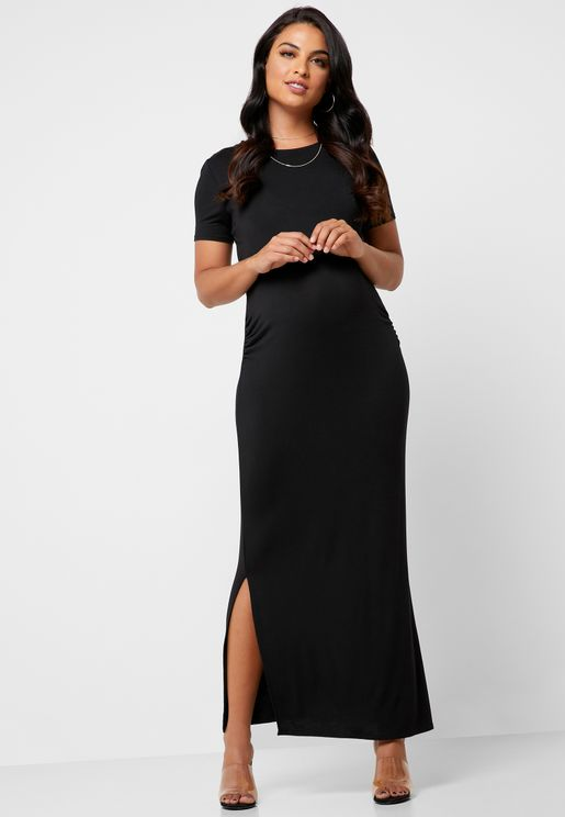a5e725bfa7d05 Layered Maxi Dress. 25% OFF! USE CODE : EID25. Dorothy Perkins Maternity