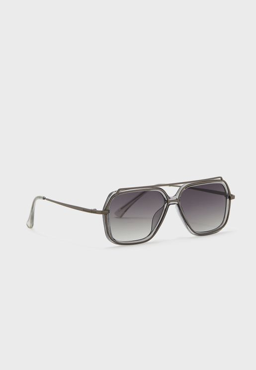 Gradient Lens Casual Sunglasses