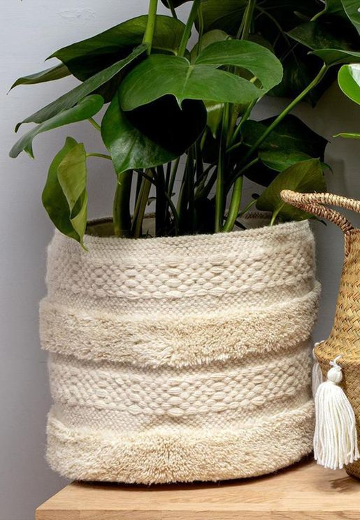 Macramé Storage Basket