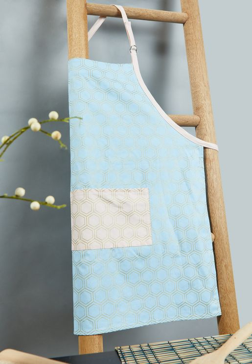 Frosted Deco Apron