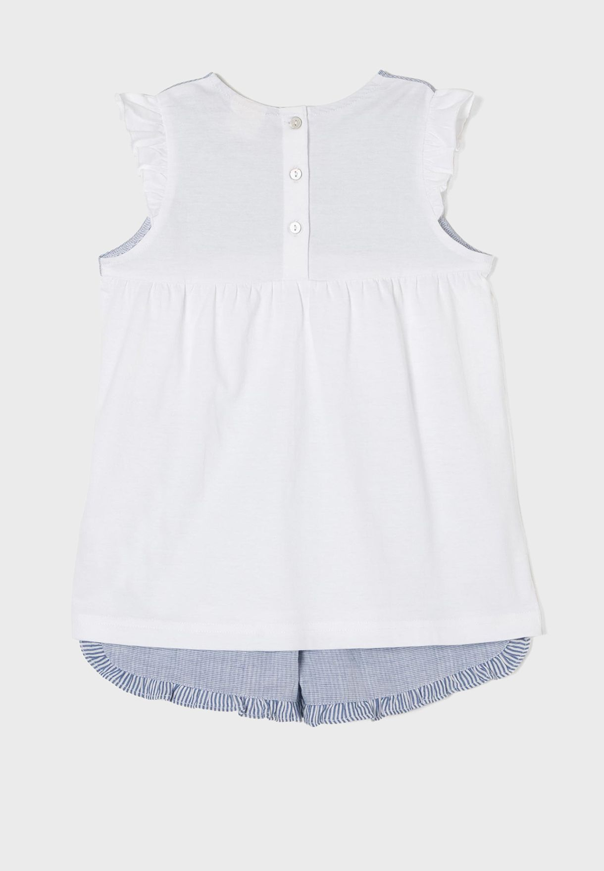 Kids Ruffle Detail Bodysuit