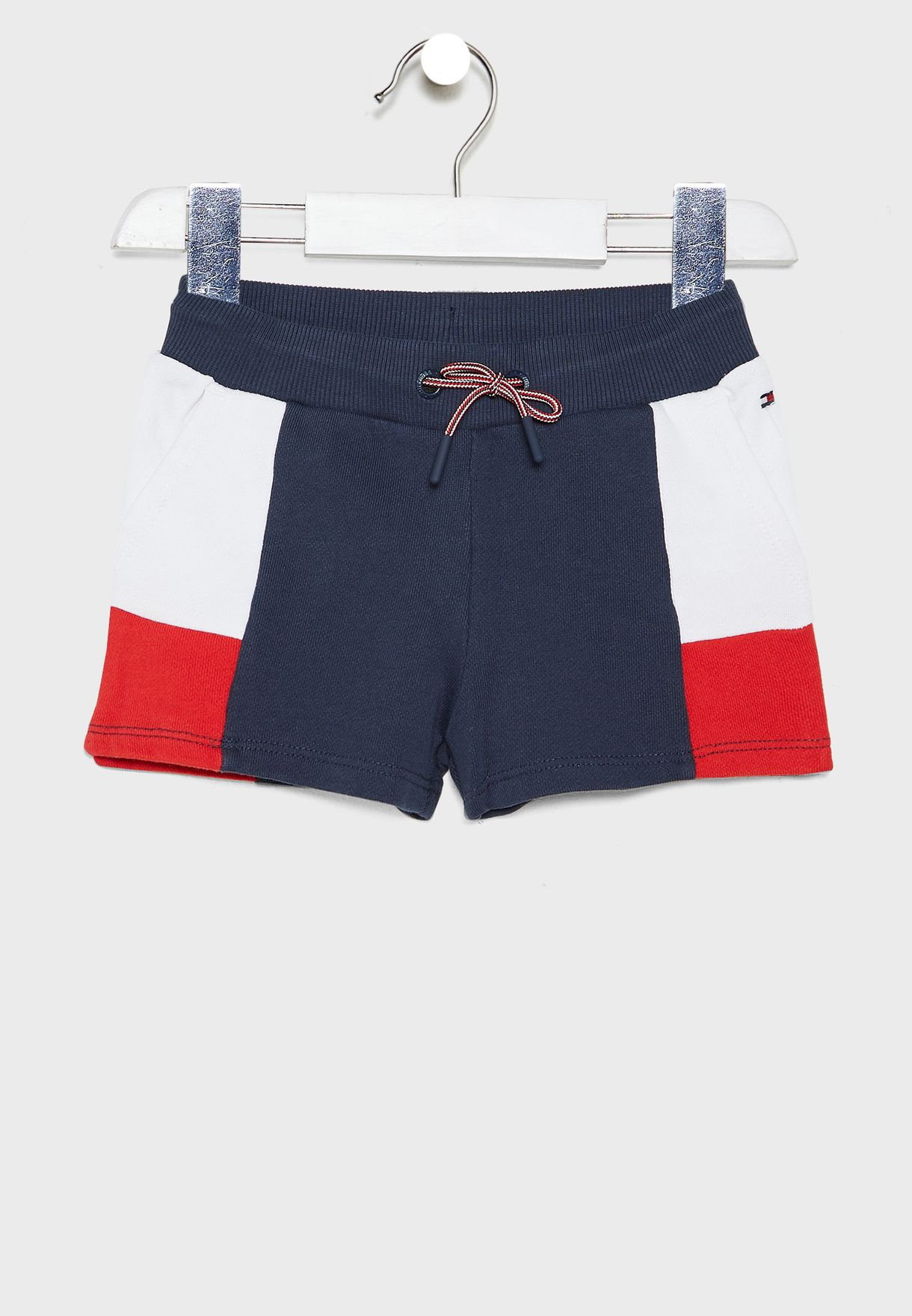 Kids Color Block Shorts