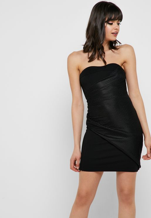 910cc37bf7d Bandeau Bodycon Mini Dress