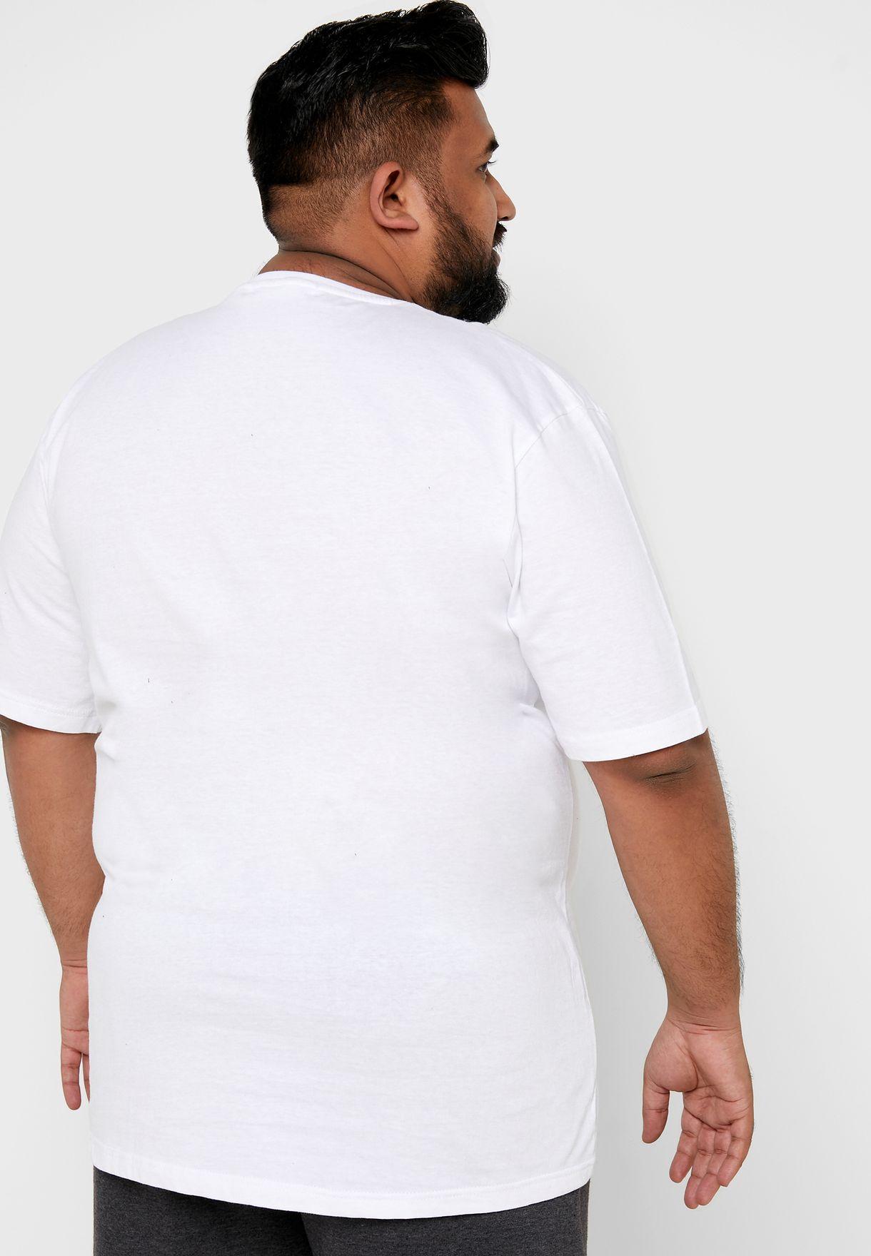 Plus Size Print T Shirt