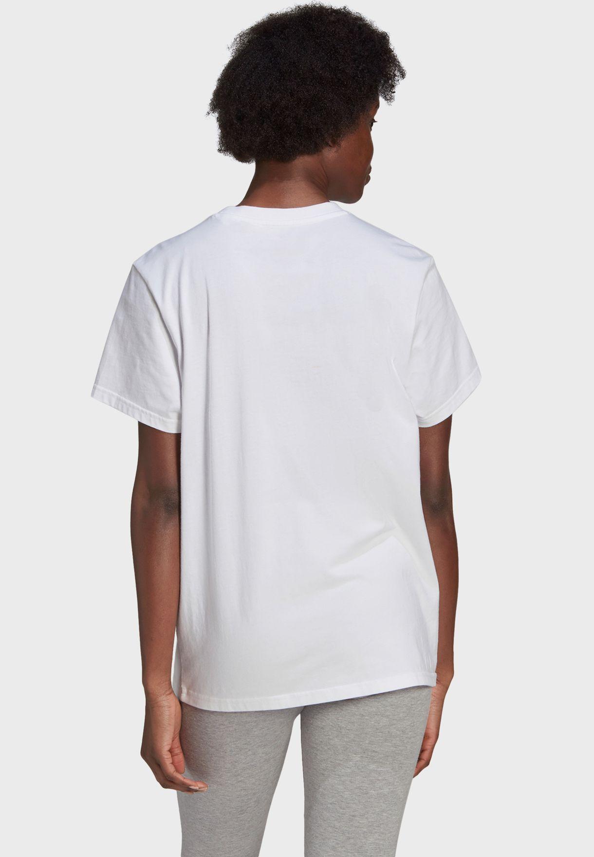 Big Logo Boyfriend T-Shirt
