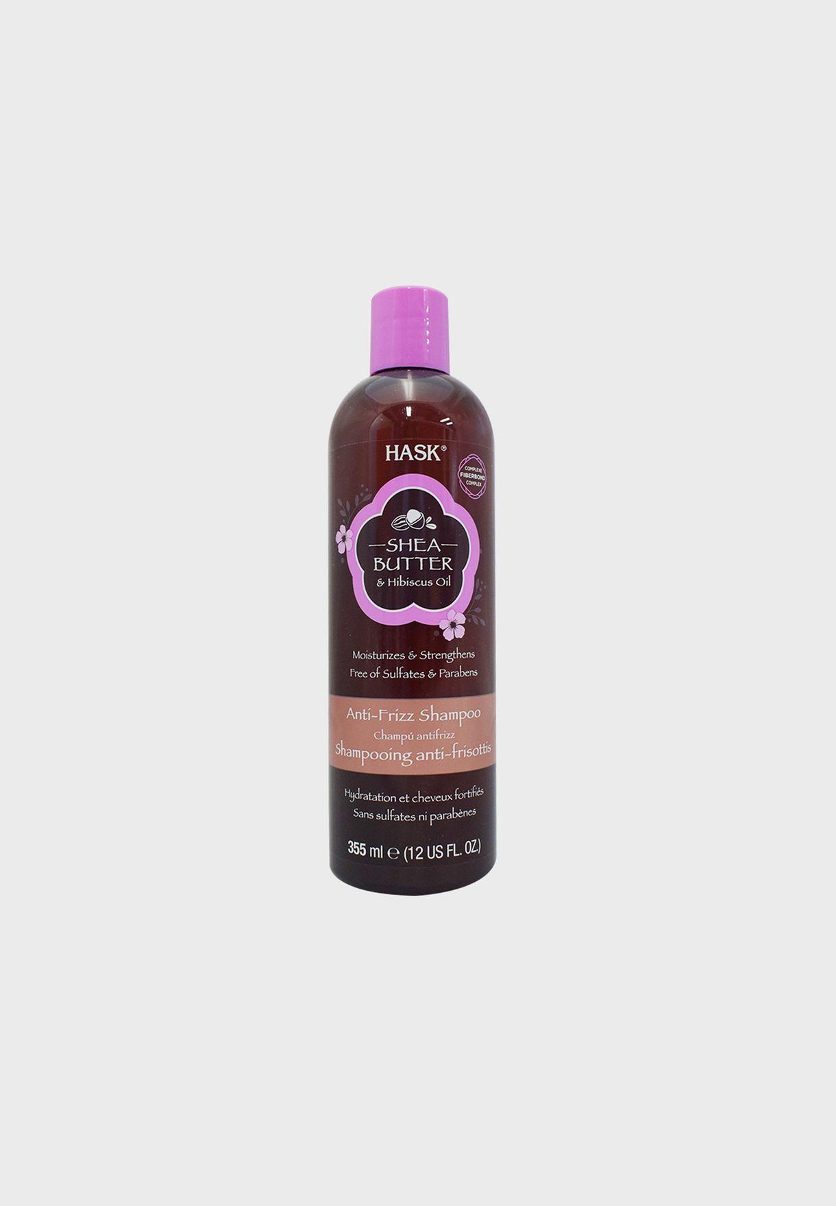 Shea Butter & Hibiscus Oil Shampoo 355ml