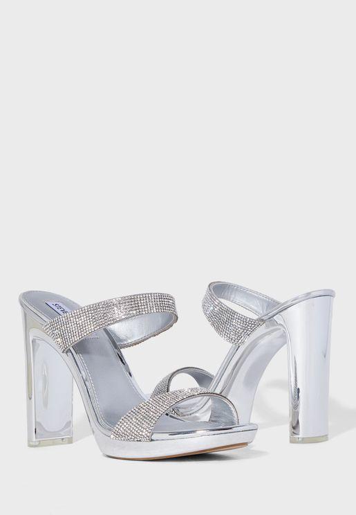 Glassy-R High Heel Sandal