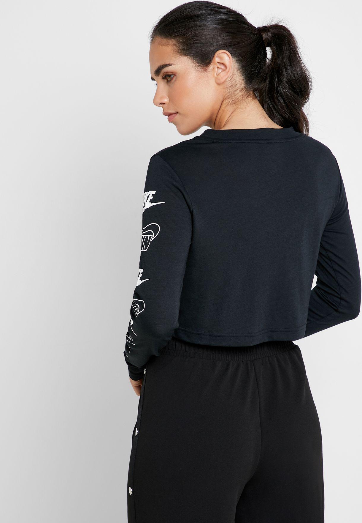 NSW Futura Flip Cropped T-Shirt