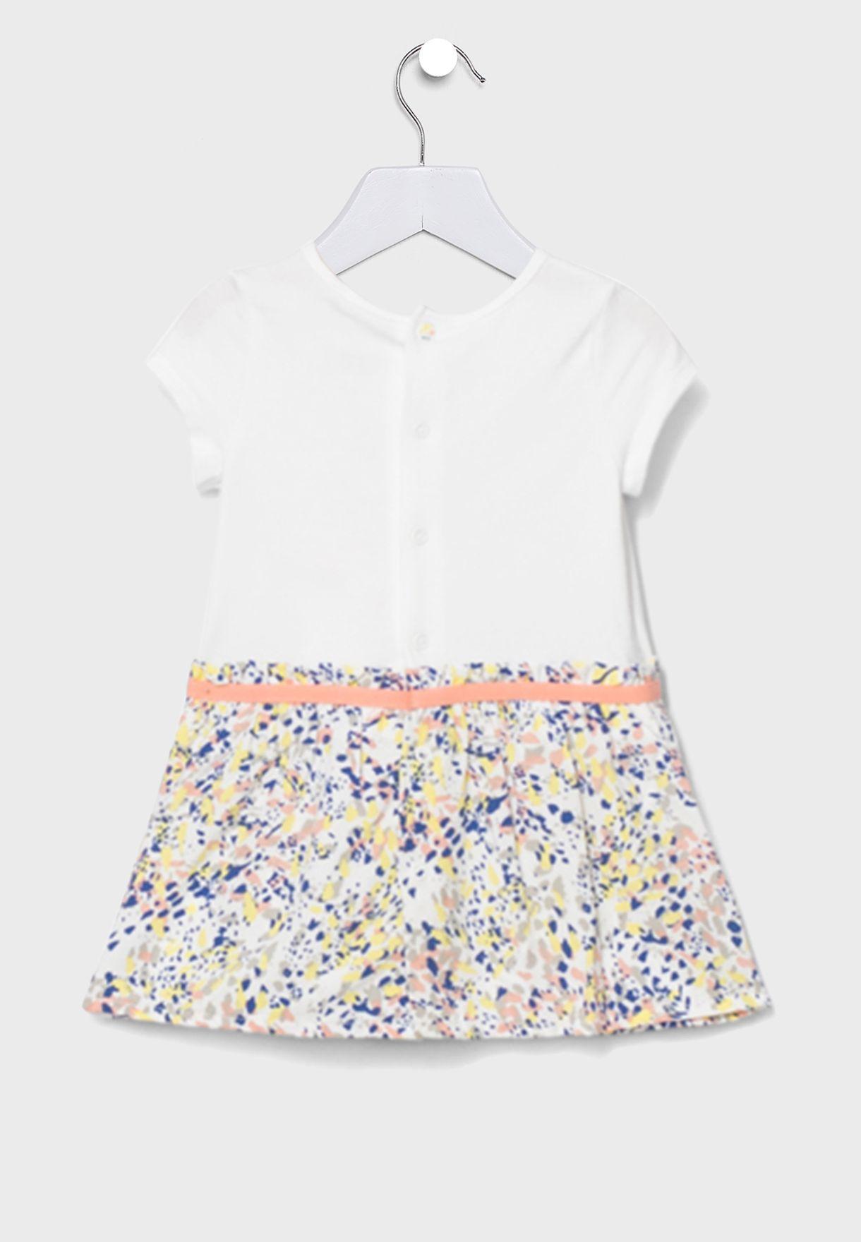 Kids Printed Fabric Dress