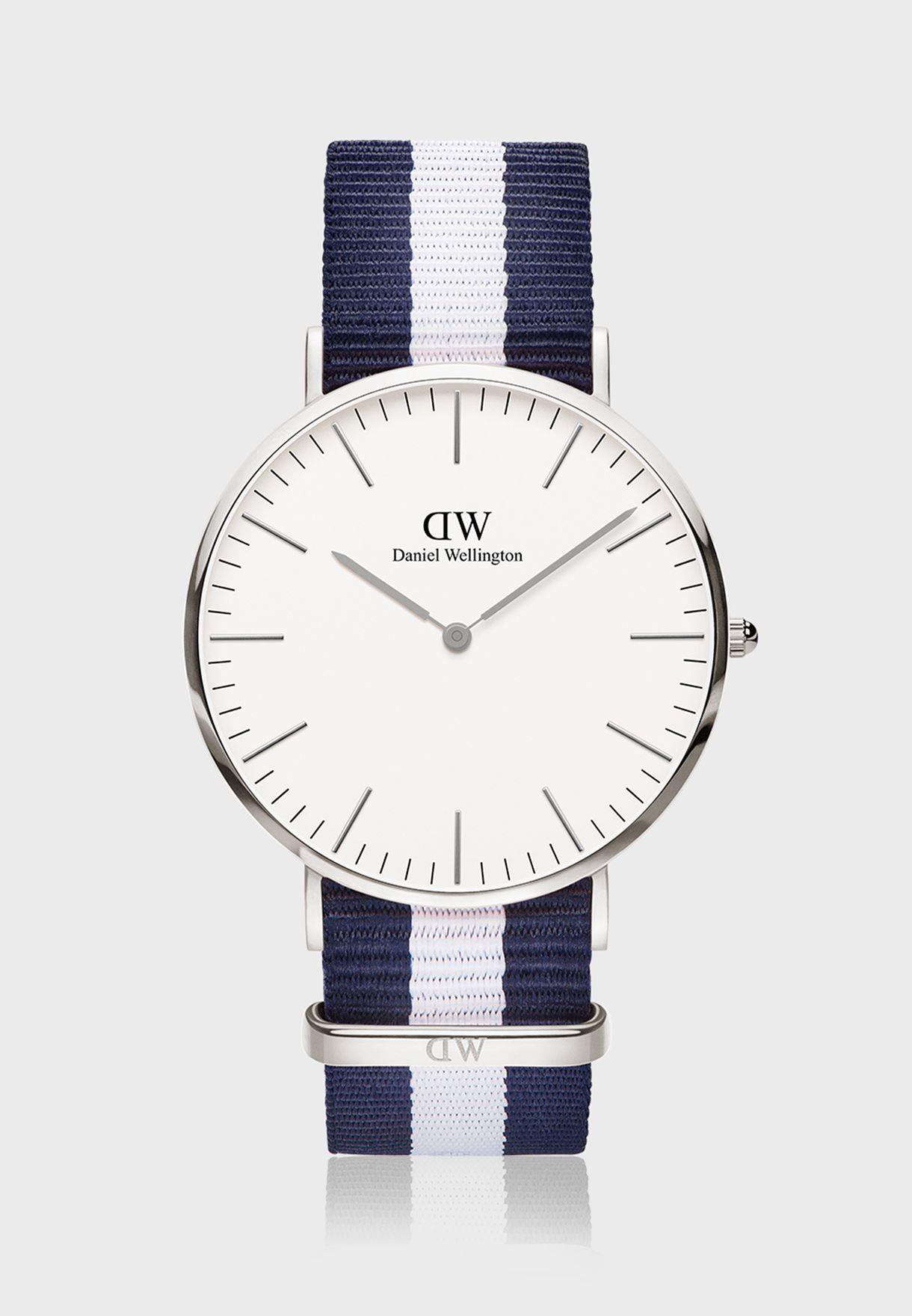 ساعة كلاسكو اس وايت الكلاسيكية 40 مم