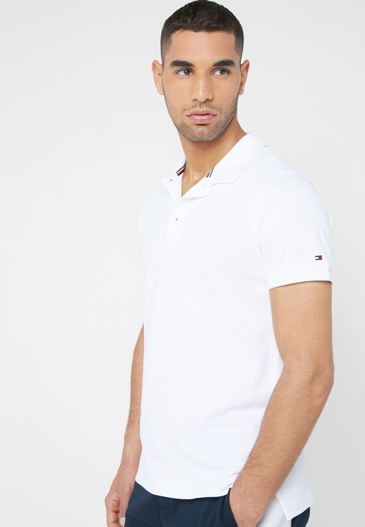 Icon Back Stripe Polo