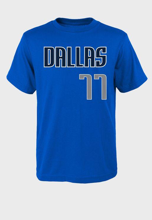 Youth Luka Doncic Dallas Mavericks T-Shirt