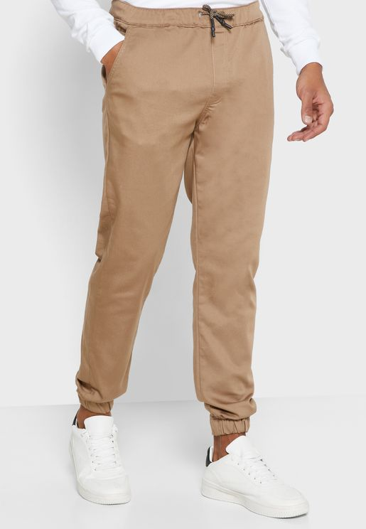 Cuffed Relaxed Joggers