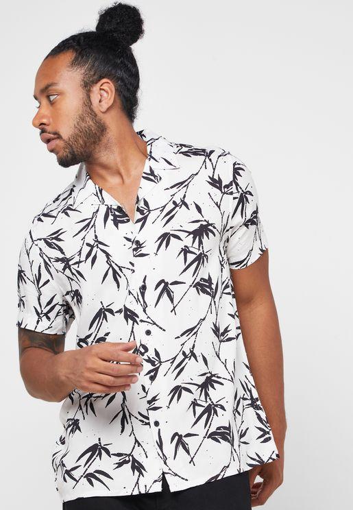 Bamboo Print Shirt