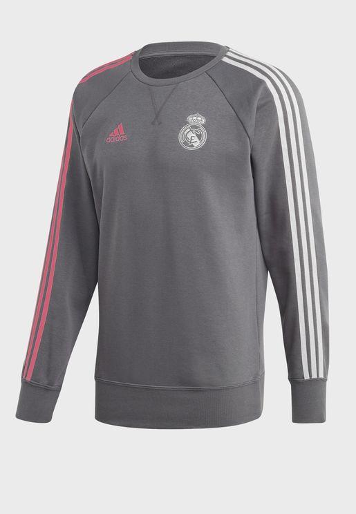 سويت شيرت بشعار فريق ريال مدريد