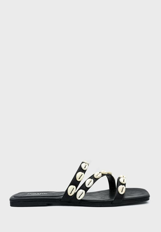 Multi-Strap Flat Sandal