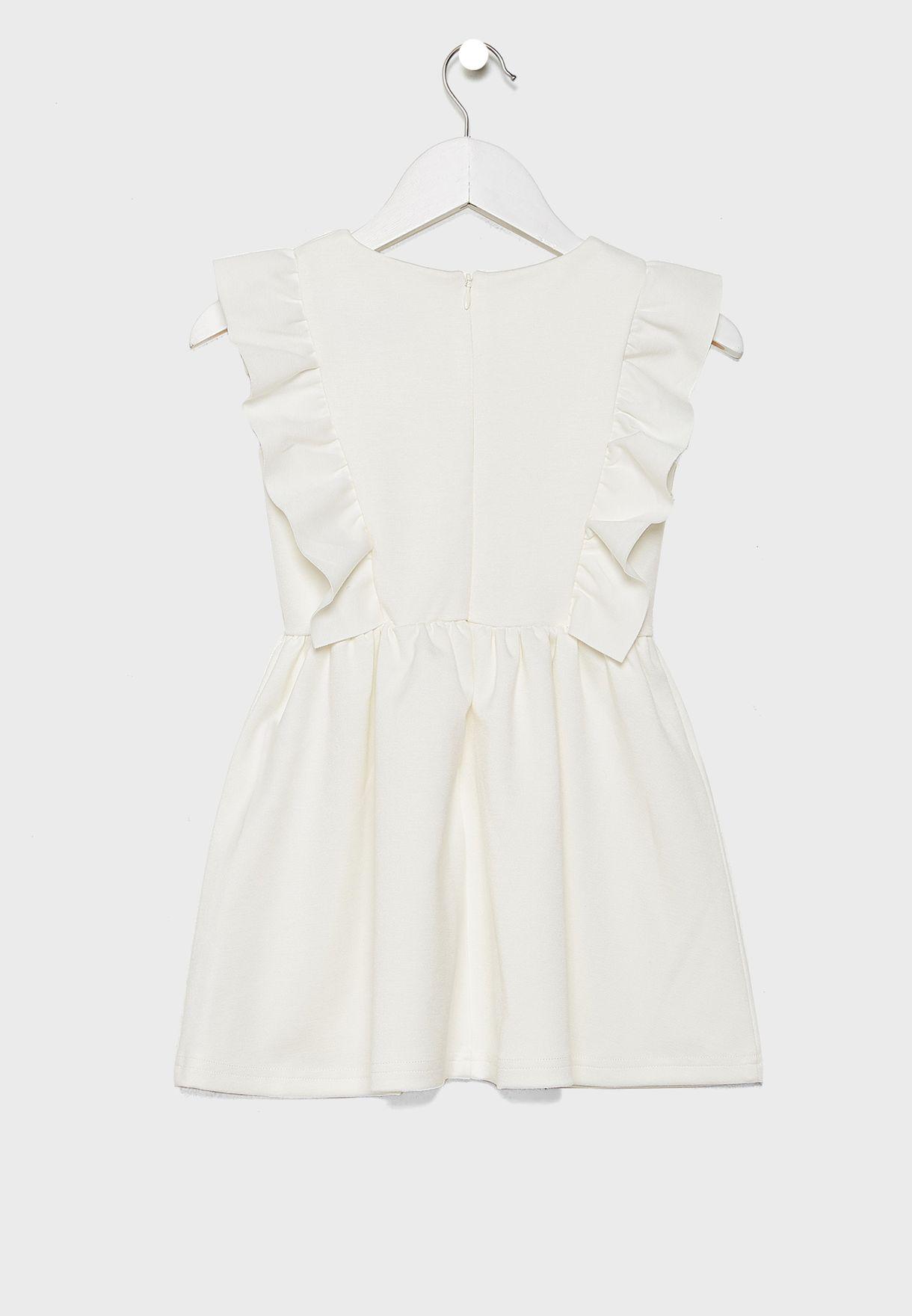 Kids Ruffle Detail Dress