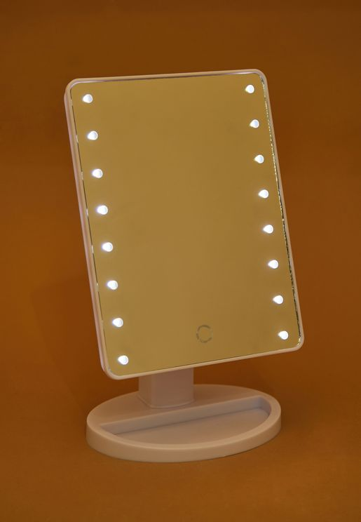 LED Hollywood Mirror With Touch Dimmer