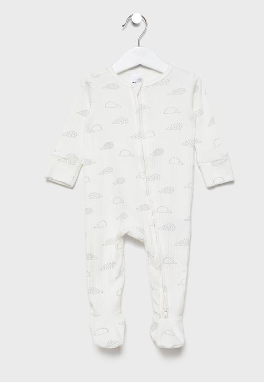 Infant Zip Through Romper