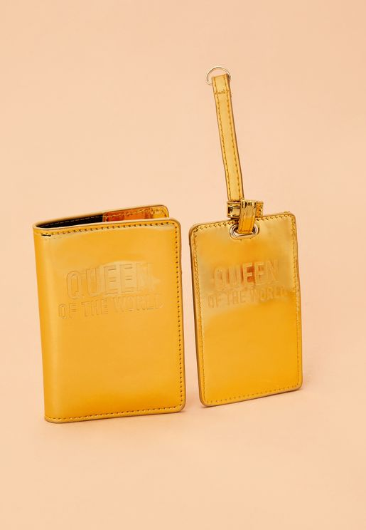 Tag & Holder Travel Set