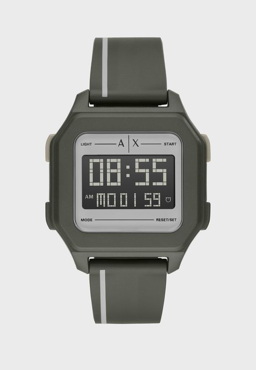 AX2953 Shell Digital Watch