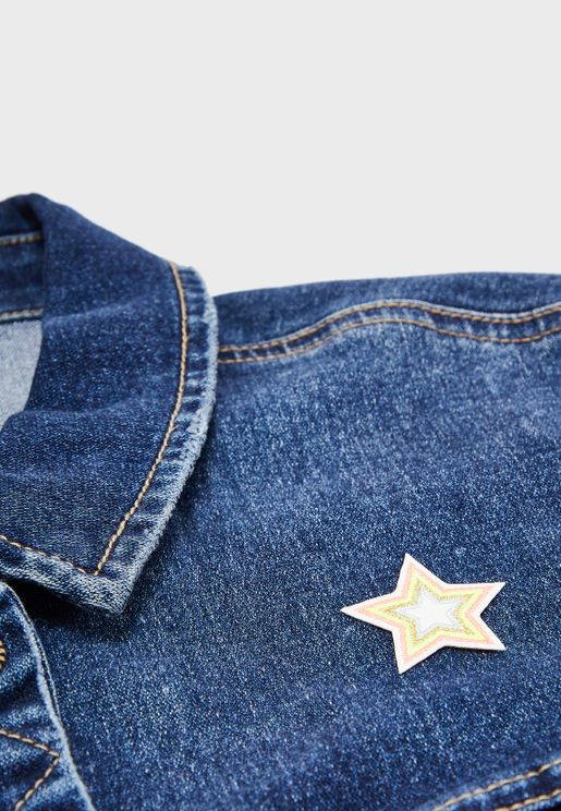 حلية للملابس بشكل نجمة