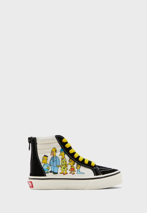 Infant Simpsons SK8-Hi Zip