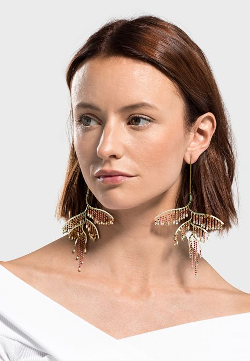 Trend Tropical Drop Earrings