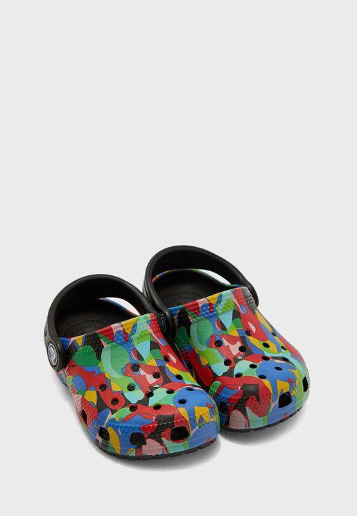 Kids Classic Bubble Block Sandal