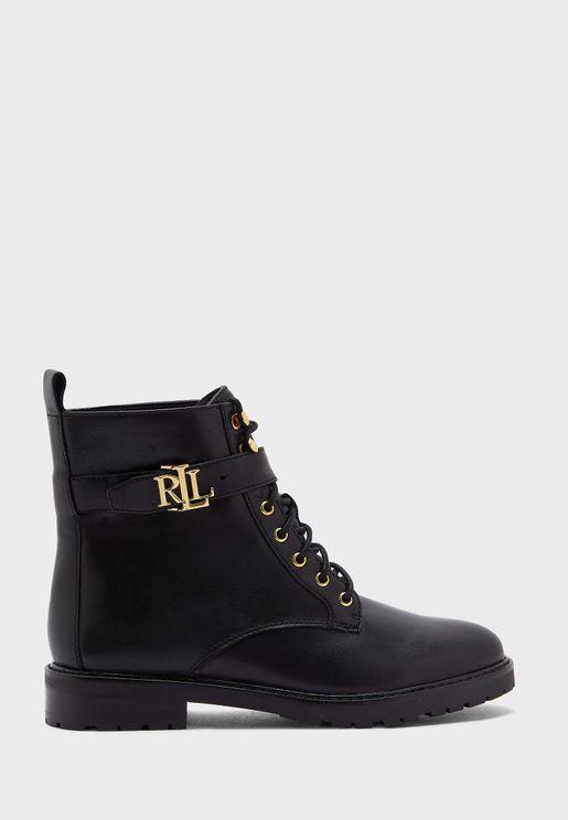 Elridge Ankle Low Heel Boots