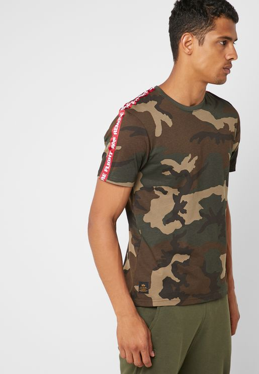 Taped Camo T-Shirt