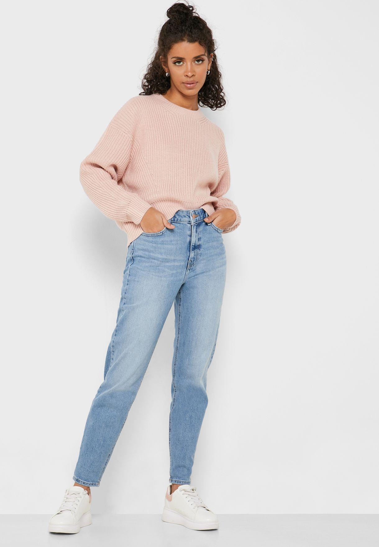 بنطال جينز الامهات