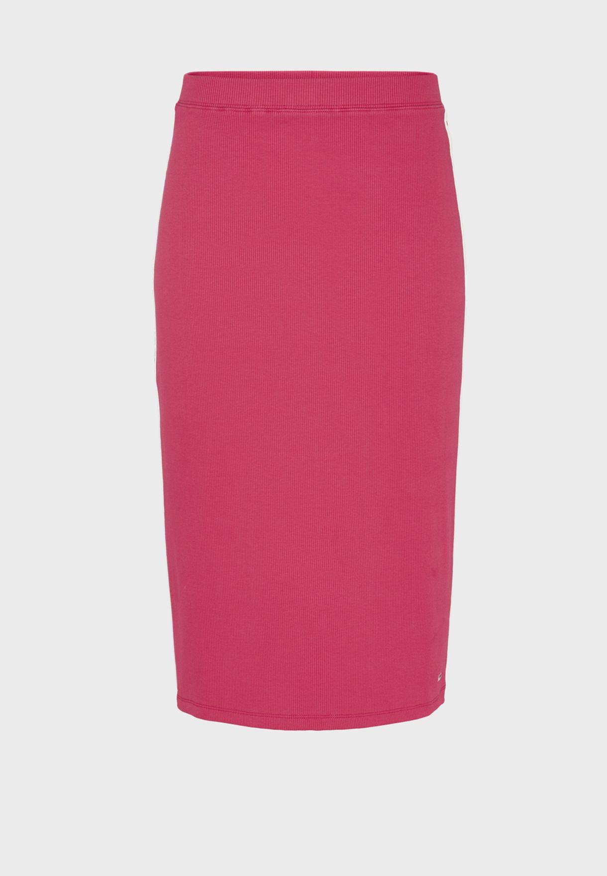 Ribbed Bodycon Skirt